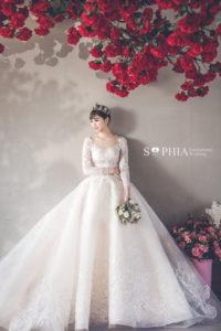 板橋蘇菲雅婚紗禮服